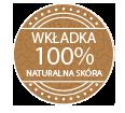Wkładka 100% skóry naturalnej