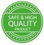 Certyfikat Safe & High Quality Product - produkt najwyższej jakości