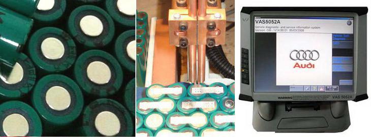 regeneracja akumulatorów VAS 5052, VAS 5052A