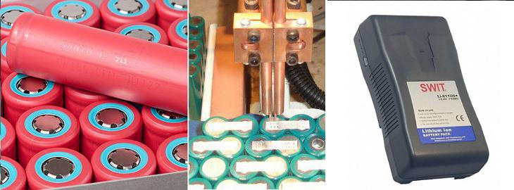 regeneracja baterii SWIT S-8110, V-lock