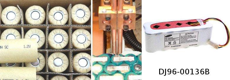 regeneracja baterii DJ96-00136B