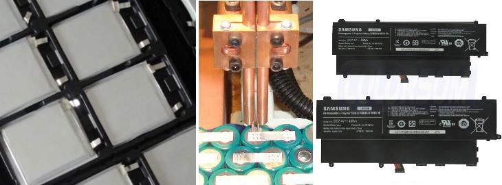 regeneracja baterii do SAMSUNG NP530U3B, NP530U3C, 530U3B, 530U3C