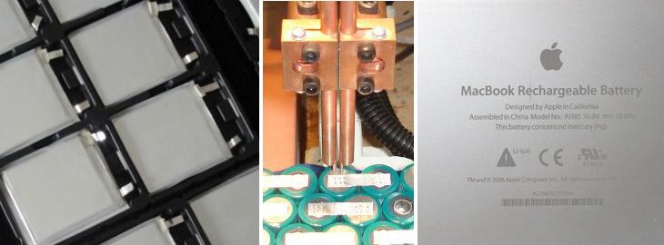 regeneracja baterii Apple A1175, A1185, A1189