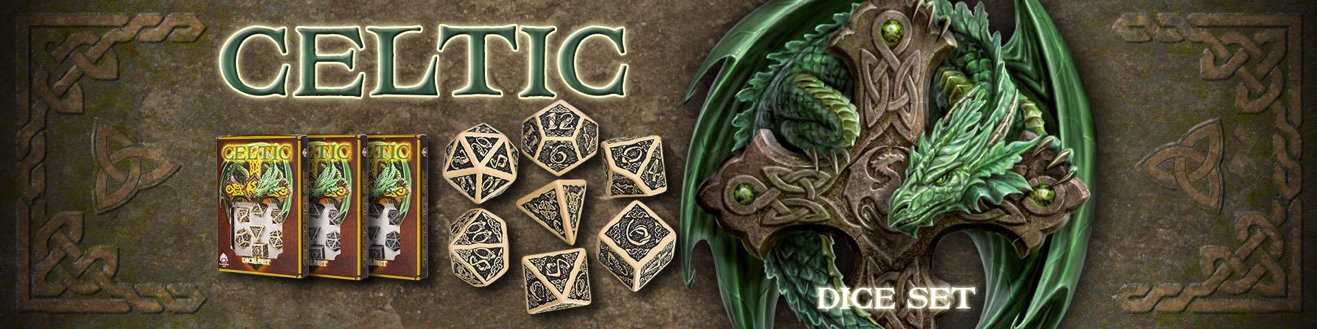 Celtic 3D Dice