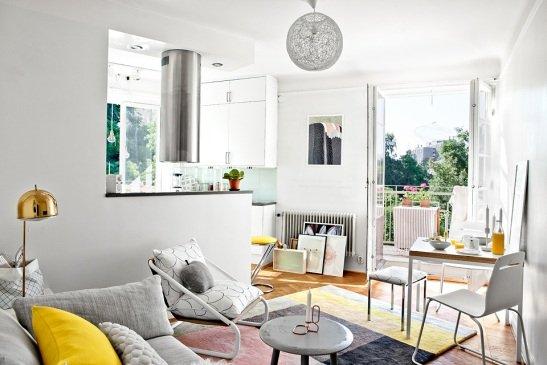 Wohnung einrichten wohnzimmer grau