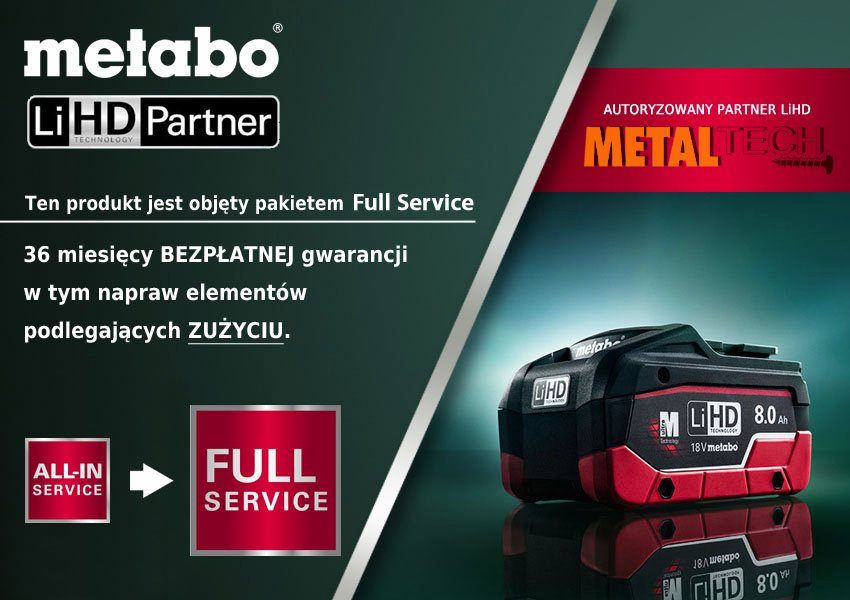 metal tech metabo lihd partner