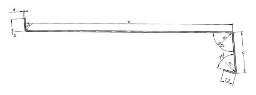 Aussen fensterbank aus stahl blech wei 200mm 1lfdm bis 1 7m lang nach ma auss ebay - Blech fensterbank montage ...