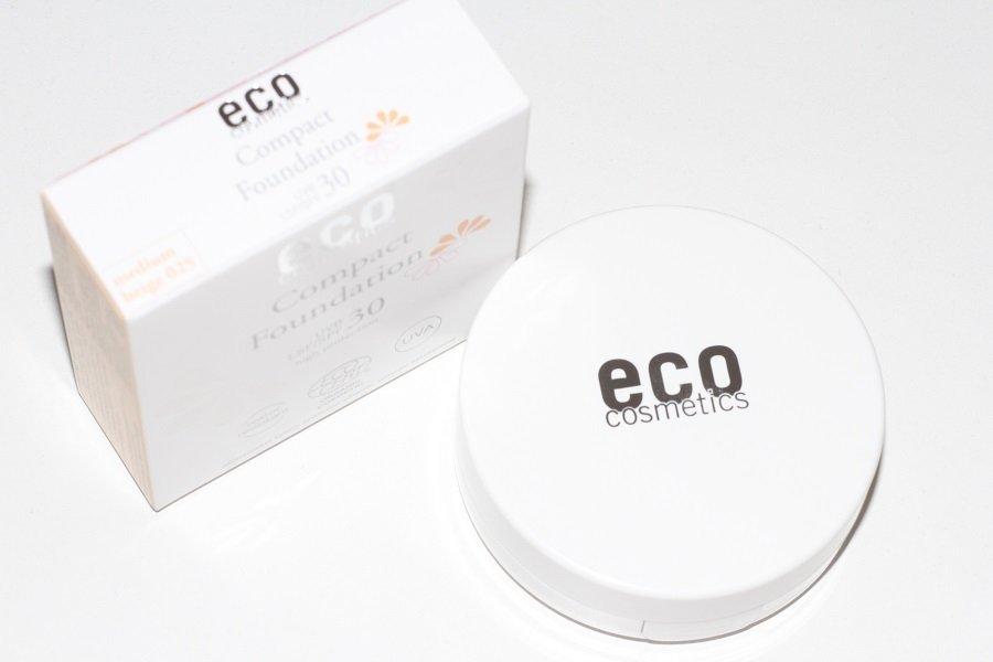 eco cosmetics podkład w kompakcie
