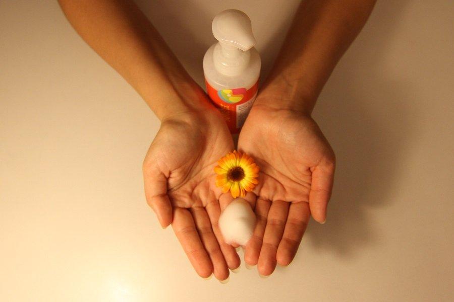 pianka do mycia nagietek
