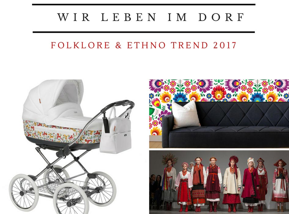 Folklore Look, Modetrend 2017