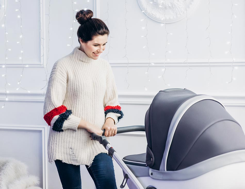 Anex Sport Gray CLOUD Kinderwagen