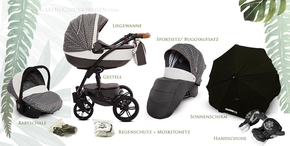 Shell Exclusive Kinderwagen