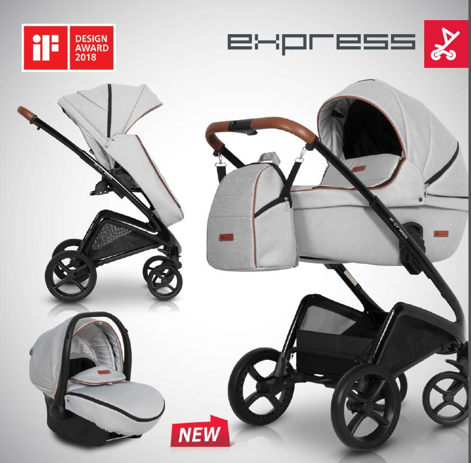 Euro-Cart Express Kinderwagen