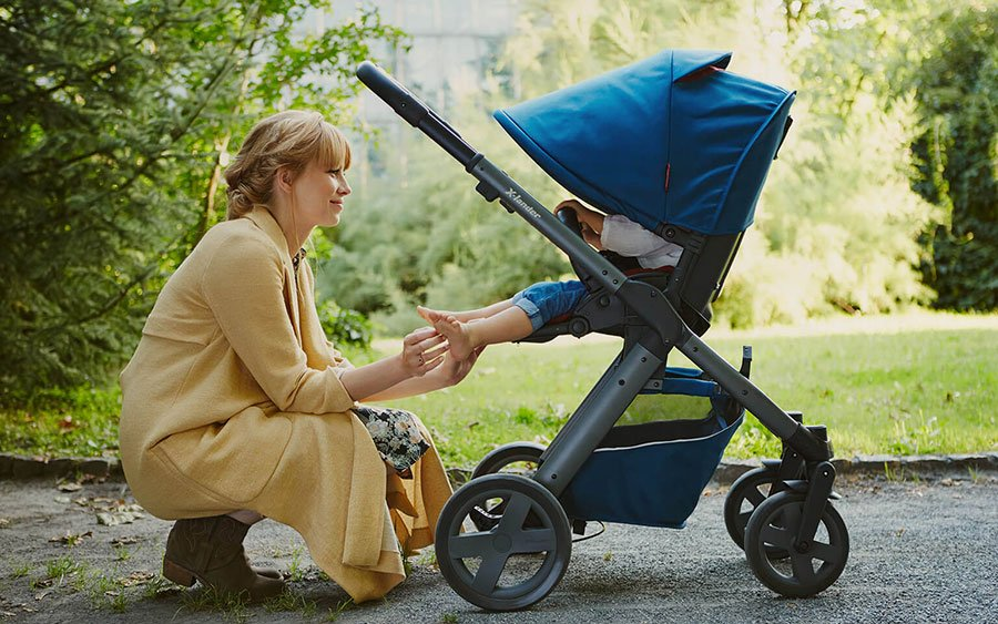 Kinderwagen X-Pulse  3 in 1 Set