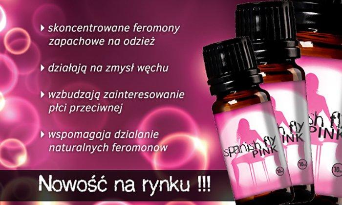 feromony spanish fly pink na bazarek pl