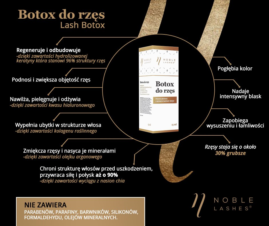botox do rzęs | botoks na rzęsy [Noble Lashes]