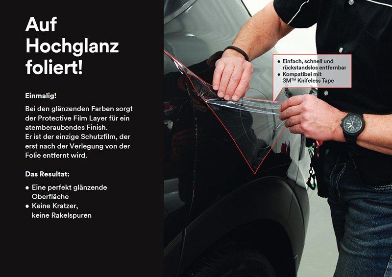 3M 1080 Dunkelgrau Grau Matt Metallic Autofolie Car Wrapping Folie M261 152x20cm