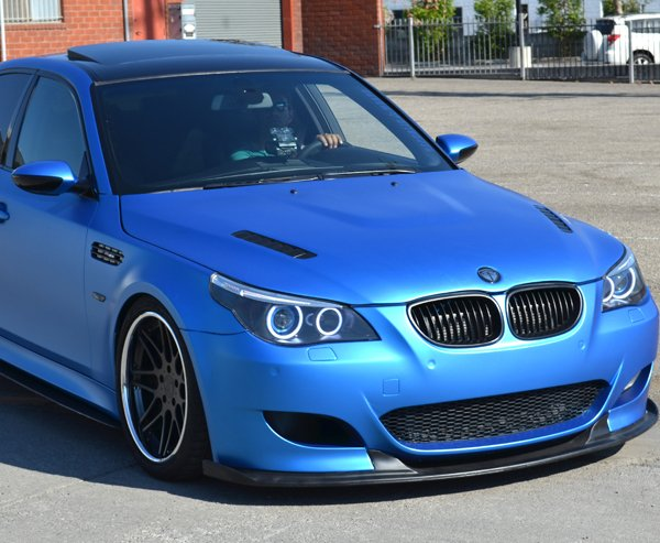 3m 1080 Blue Matte Metallic Car Wrap Vinyl M227 152x10cm