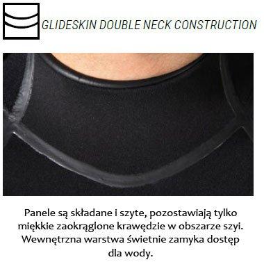 Glideskin double neck construction