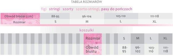 Ewana tabela rozmiarów