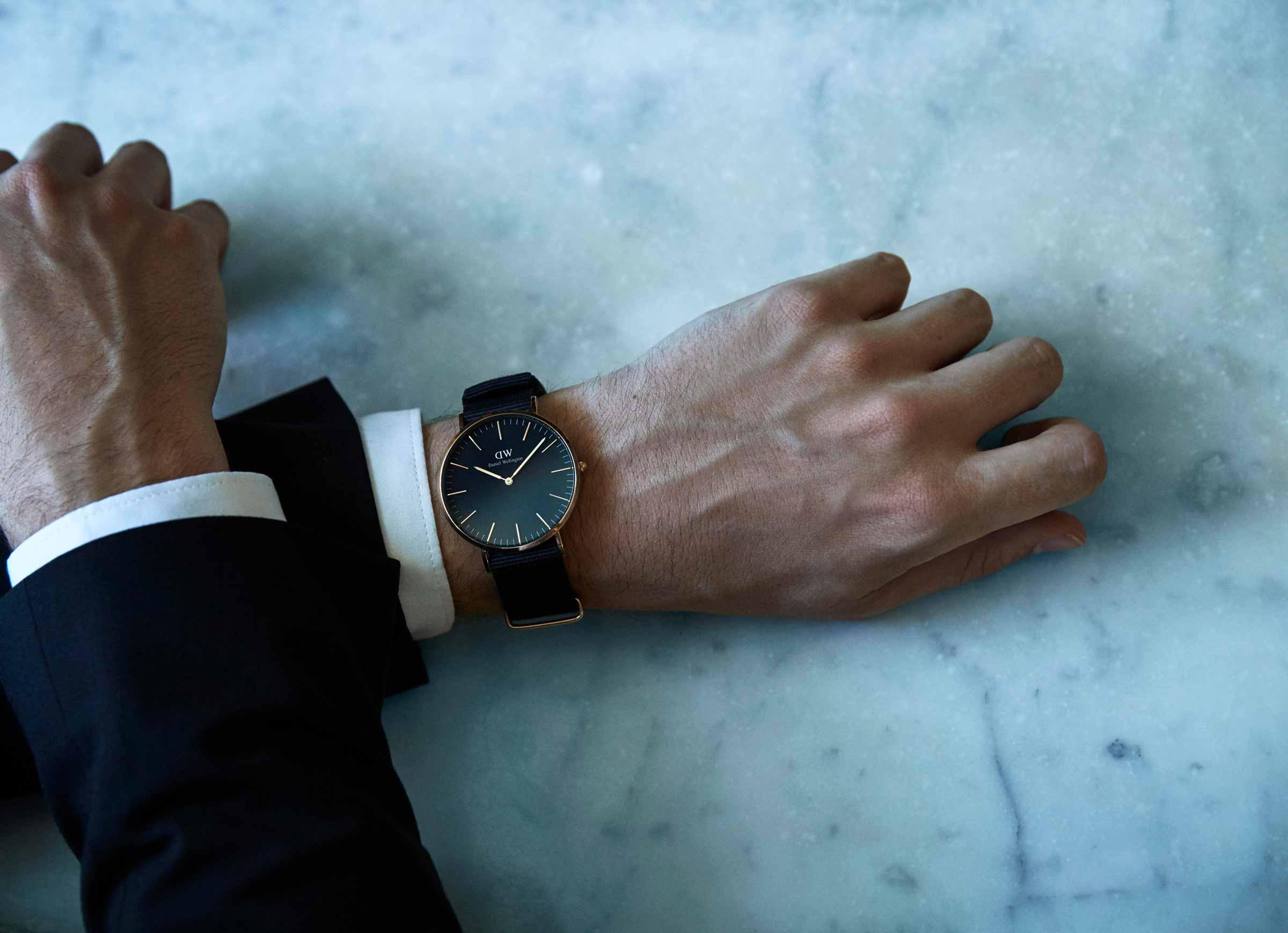 zegarki Daniel Wellington Classic Black