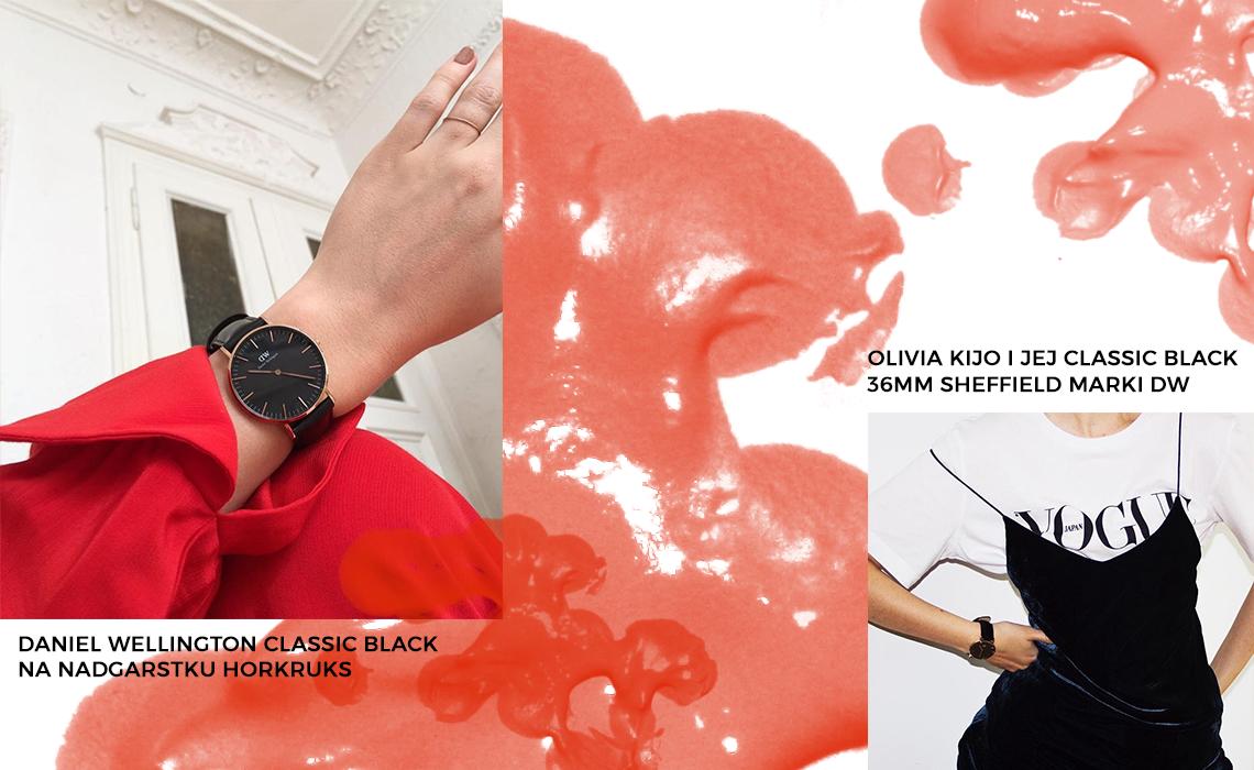 Zegarkowe trendy 2017 - czerń