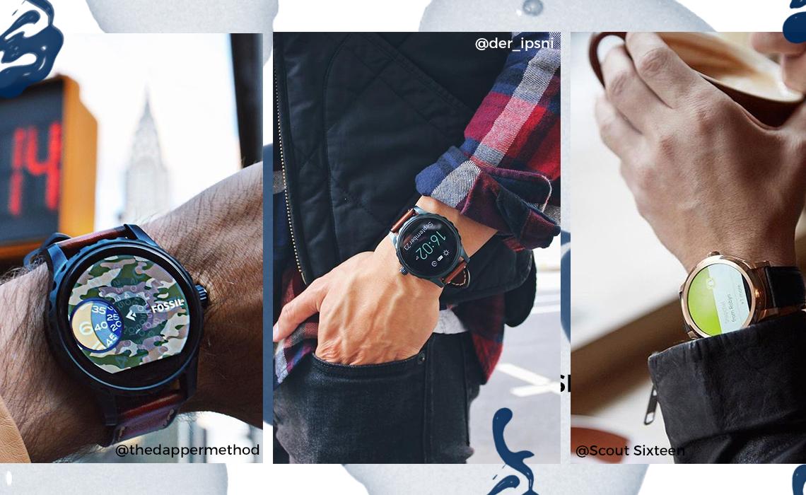 smartwatche - męskie trendy 2017