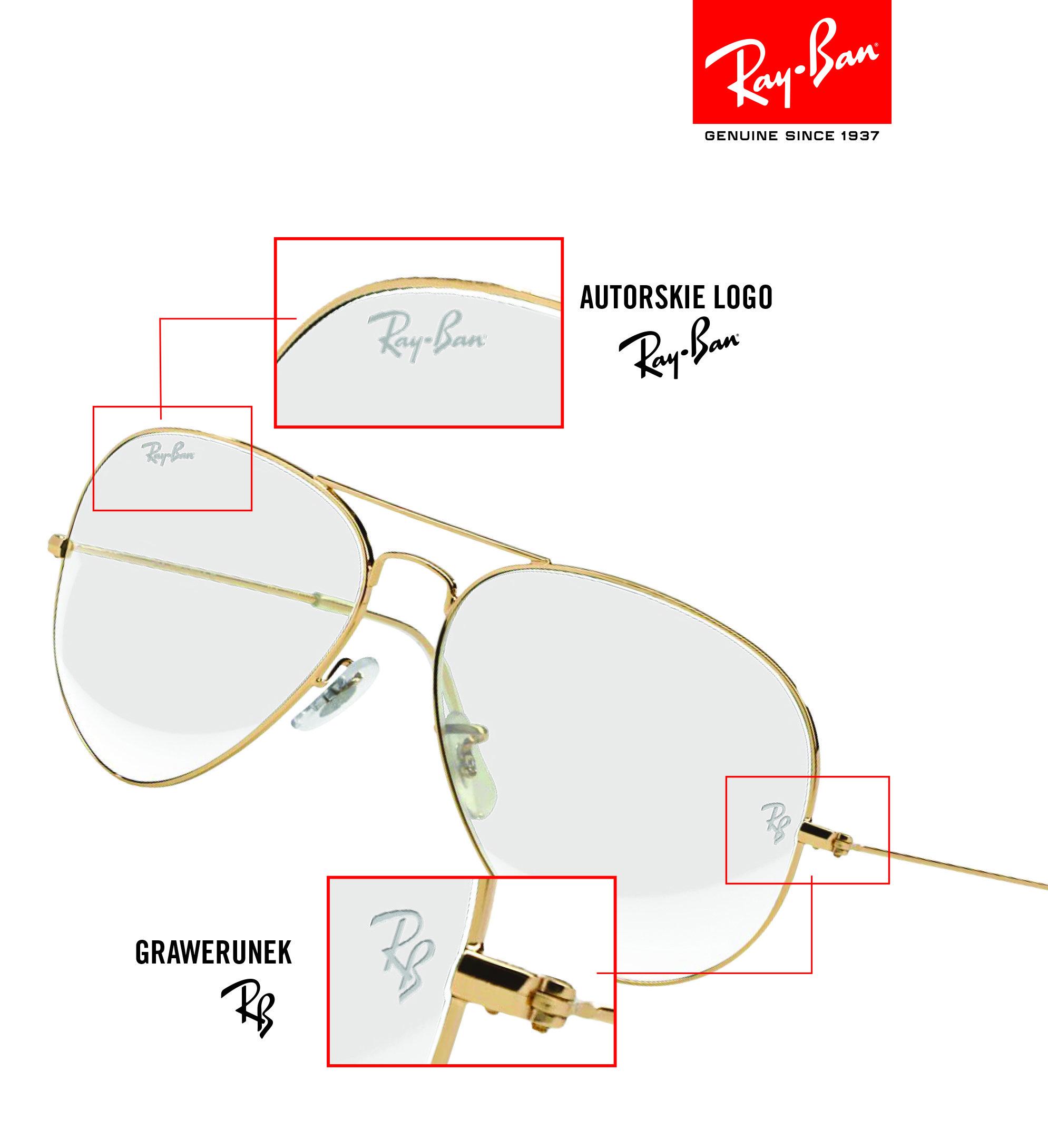 bf944e2f6f6e Okulary korekcyjne RAY-BAN® z oryginalnymi soczewkami
