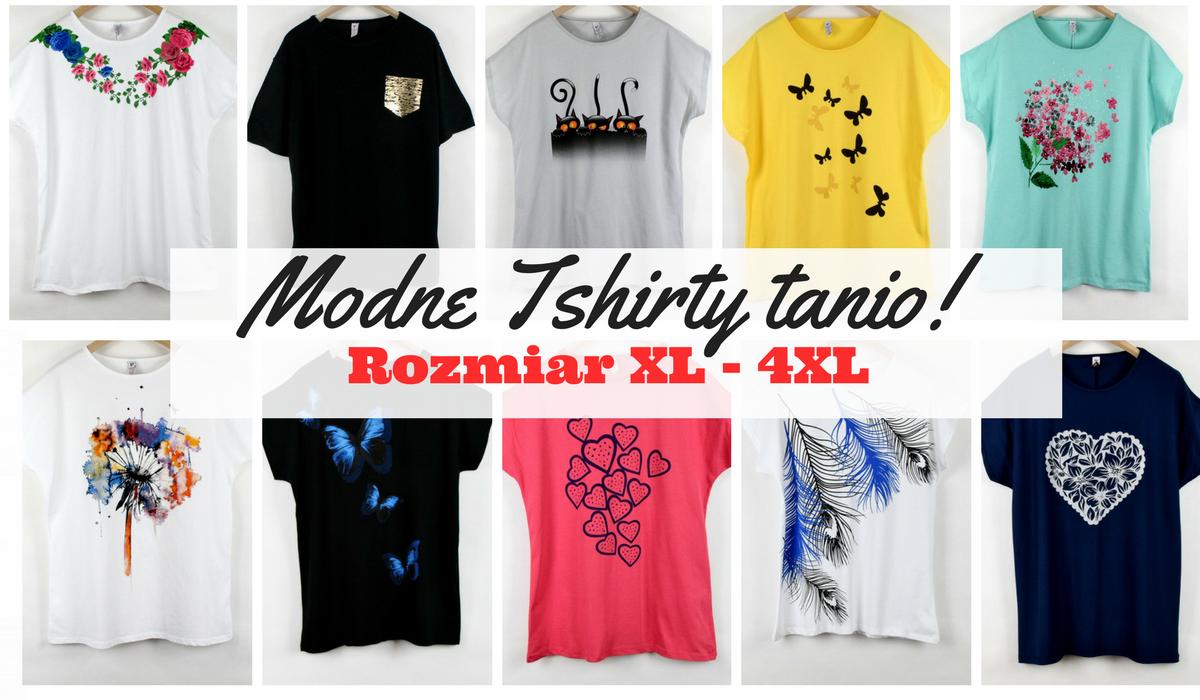 2499908059 Modne bluzki damskie plus size dla puszystych różne wzory i kolory.