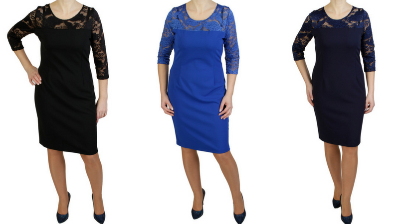 f7aa3d14fd Modne sukienki plus size (XXL) duże rozmiary na święta - XELKA od ...