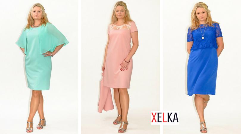 6b563f70ee Odpowiednie sukienki plus size dla puszystych Pań uszyte są z komfortowych  materiałów oraz są odpowiednio skrojone.