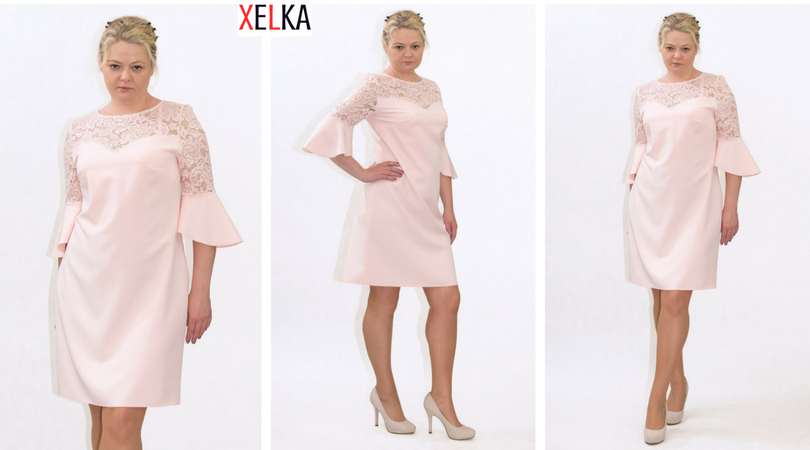 b4ce0afa77 Eleganckie sukienki XXL dla puszystych
