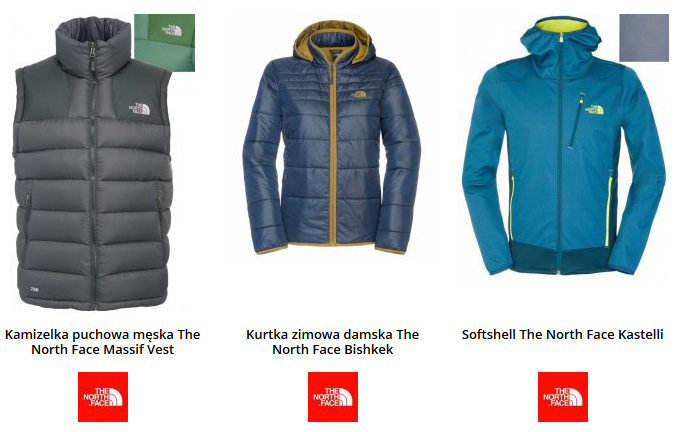 kurtki north face