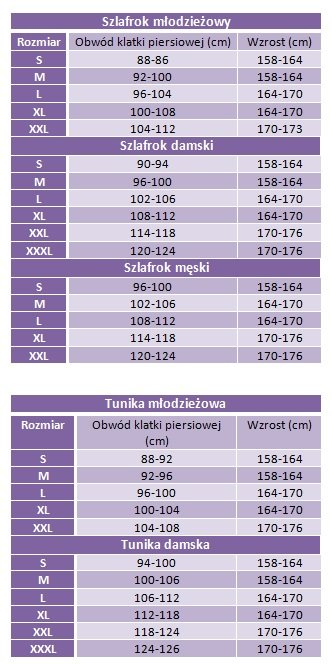 0cd18cbc559b30 Doctor Nap tabela rozmiarów - nbielizna.pl