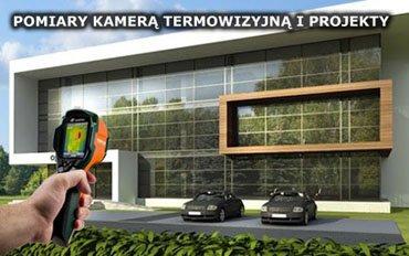Pomiary kamerą termowizyjną.