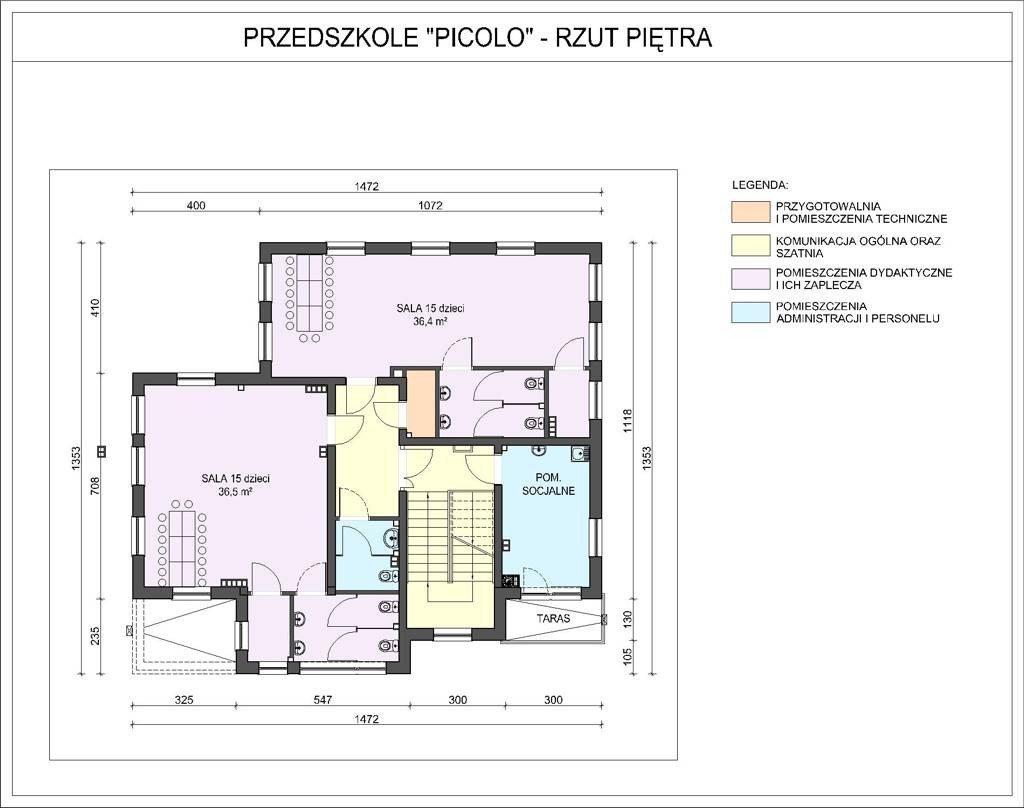 Projekty Przedszkoli Projekt Przedszkola Picolo Na 45 Dzieci