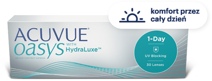 Acuvue Oasys HydraLuxe