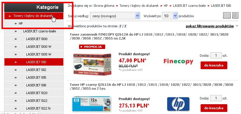 afc3979769 wyszukiwanie produktów w sklepie xeroserwis.pl 2