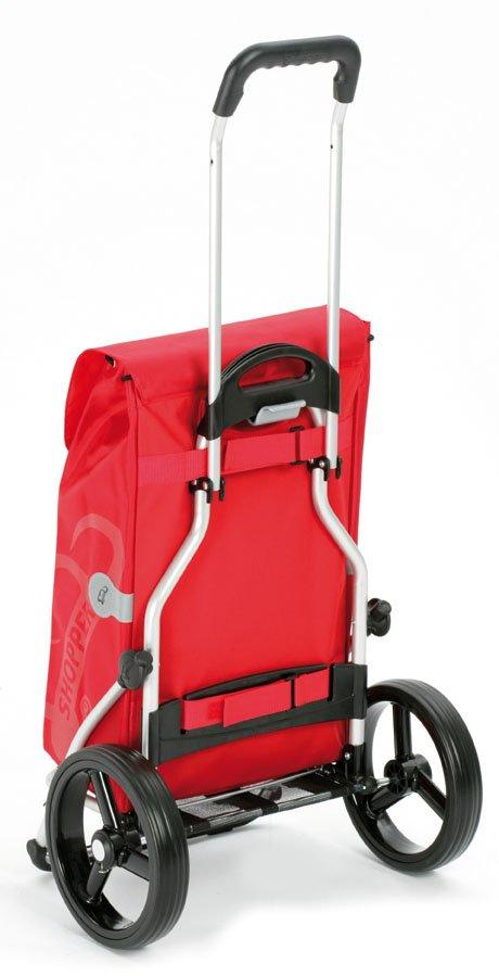 Wózek na zakupy/turystyczny z dużymi kołami Royal Moro czarny, firmy Andersen