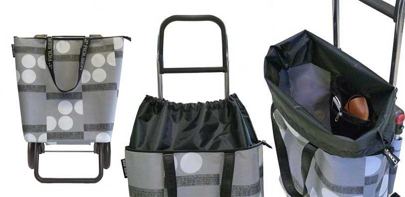 Składana torba na kółkach Rolser, czyli wózek na zakupy Mini Bag