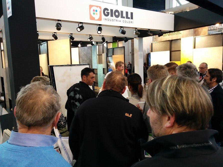 Giolli na targach w Monachium 2016 -11