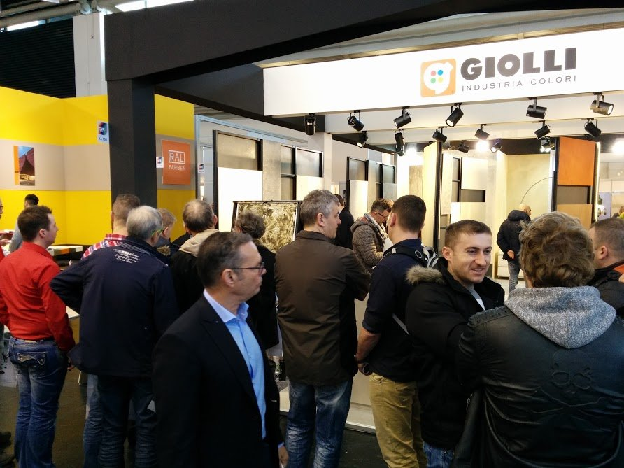 Giolli na targach w Monachium 2016 -8