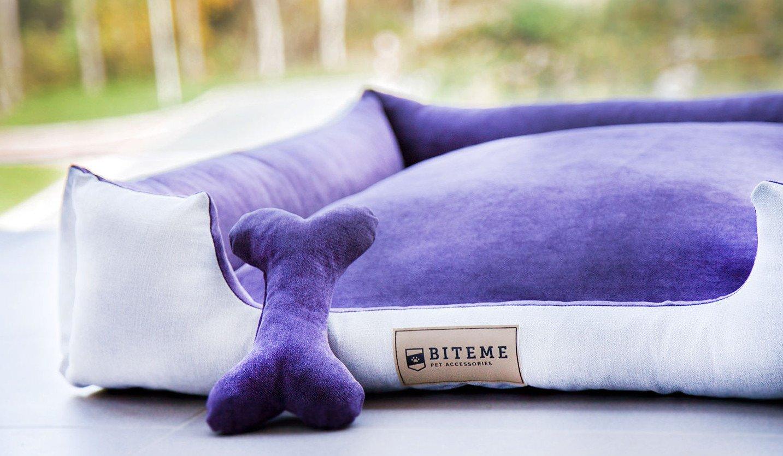 Stylowe łóżeczko dla psa Harper Velvet