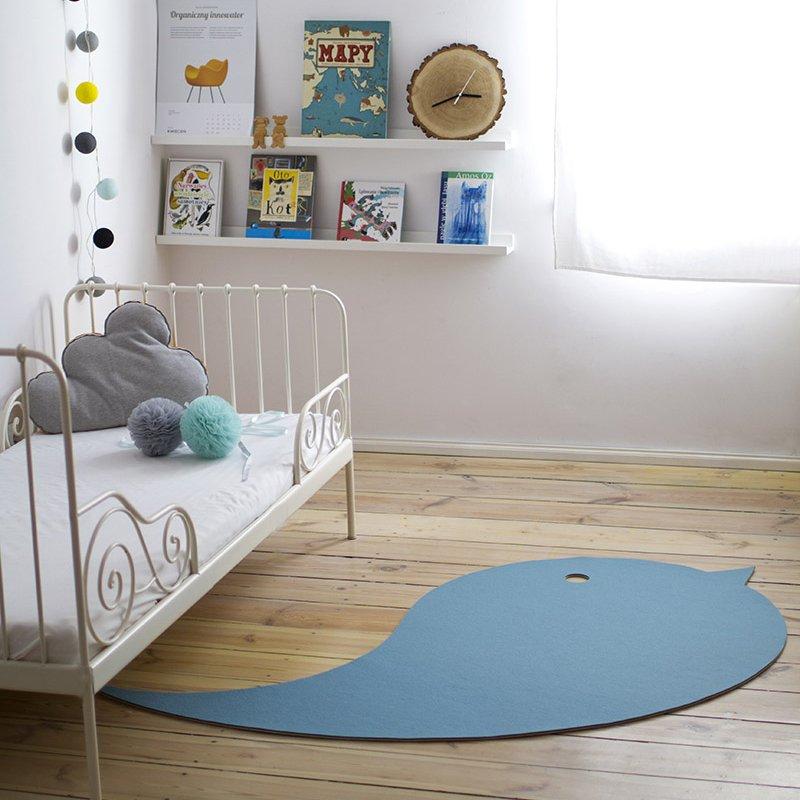 Piękny dywan do pokoju dziecięcego Bird Lumio