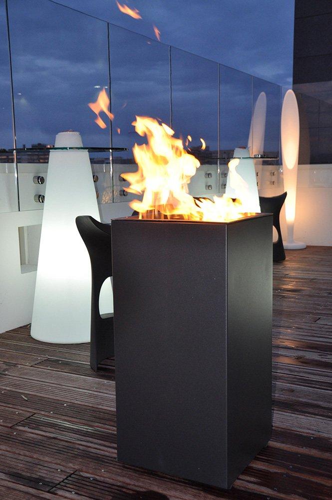 Java nowoczesny grill - palenisko ogrodowe