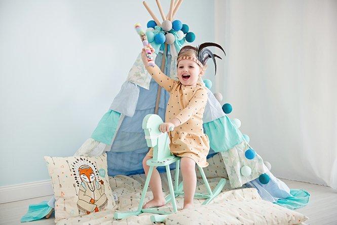 Piękna pościel dziecięca z Lisem Lisią Łapą Lovely