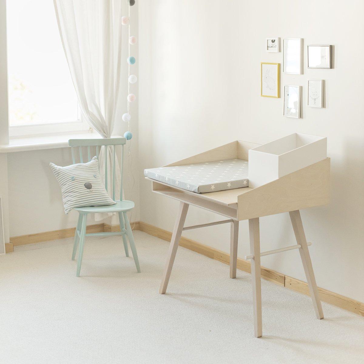 SO:LO designerski wielofunkcyjny mebel dziecięcy przewijak