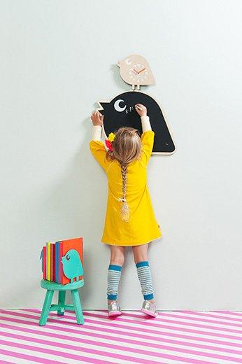 Zegar ptaszek do pokoju dziecięcego i nie tylko