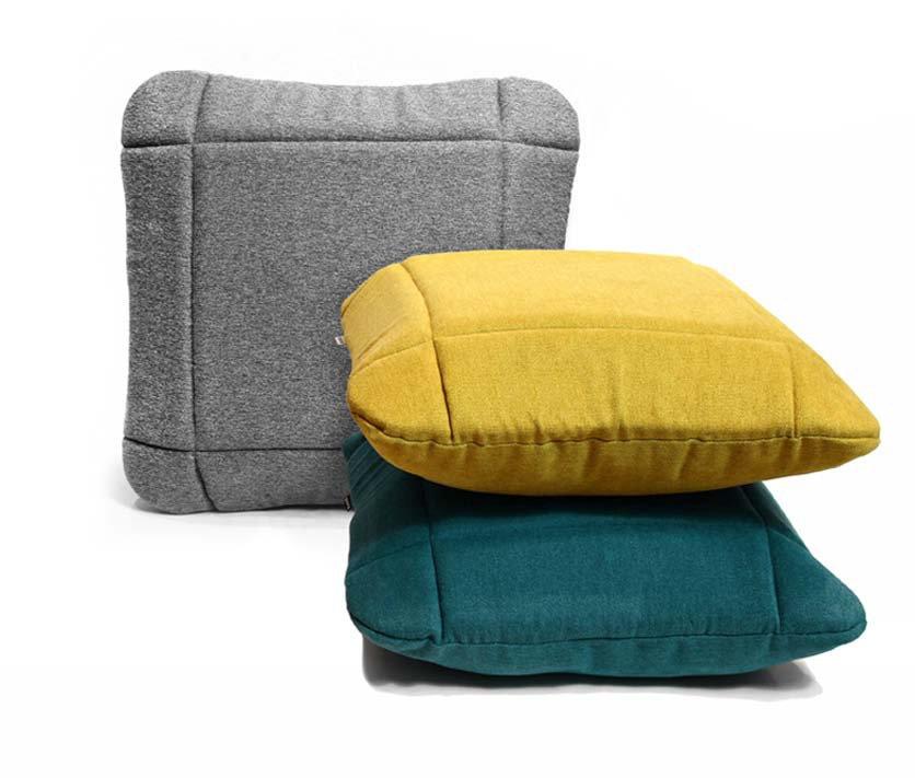 Ozdobne poduszki o geometrycznym designie Grid Moodi