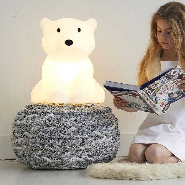Przyjazny miś polarny lampka Nanuk